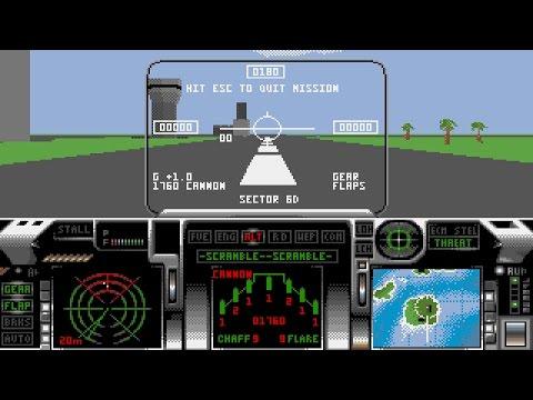 F29 Retaliator (PC/DOS) 1990, DiD/Ocean