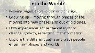 HSC English Into the World: Introduction