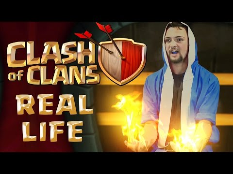 Clash Of Clans Wizards Real Life