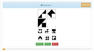 Mensa IQ test online -WALKTHROUGH
