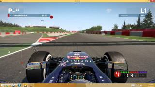 F1 2014 PC Glitch: Sector 2 Map 3 Car Diff Crash
