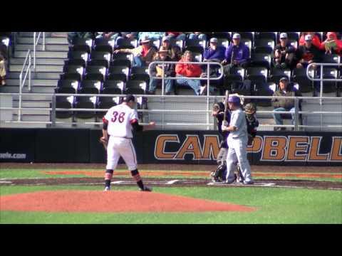 Campbell Baseball vs. Evansville - 3/11/17