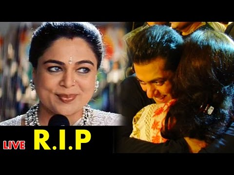 Reema Lagoo, Salman Khan's ON-SCREEN Mother PASSES AWAY