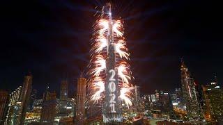Watch Dubai's 2021 New Year fireworks display