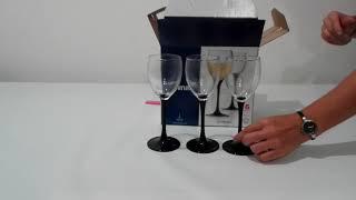 Бокалы для вина Luminarc Domino 190мл-6шт - обзор распаковки