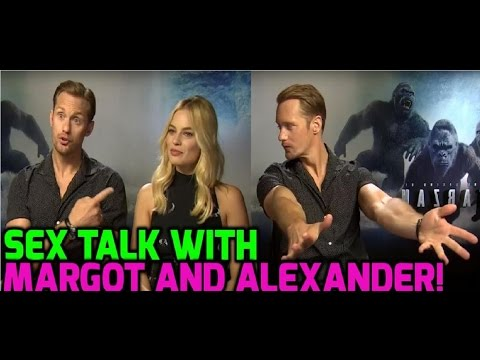 The Legend Of Tarzan: Alexander Skarsgard would NOT recommend sex with Margot Robbie!