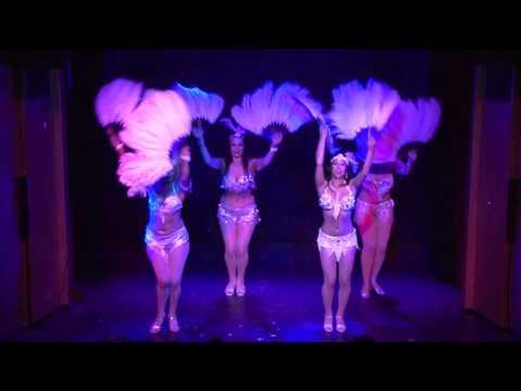 Fan dance- Folies Des Fleurs Dance Cabaret Revue