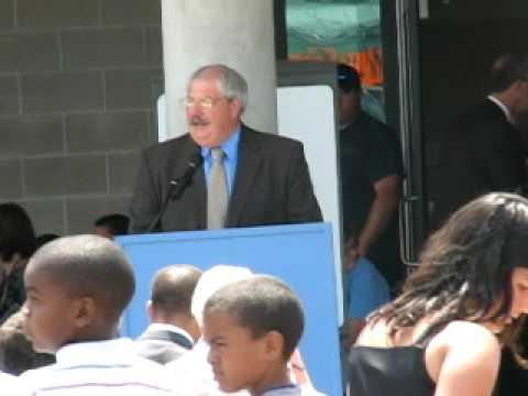 LUIS A RAMOS ELEMENTARY SCHOOL DEDICATION RIBBON CUTTING - ALLENTOWN, PA - JUNE 10, 2010