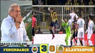 Fenerbahçe 2-0 Alanyaspor maçı tartışmalı pozisyonlar.