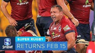 Super Rugby 2019 - RETURNS FEB 15