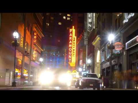 Boston Nightlapse