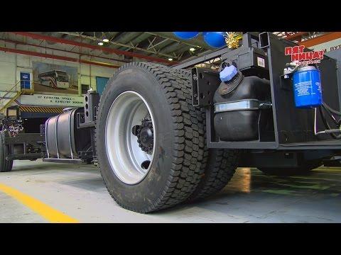 Нефтекамский автозавод запустил производство по изготовлению автобусного шасси