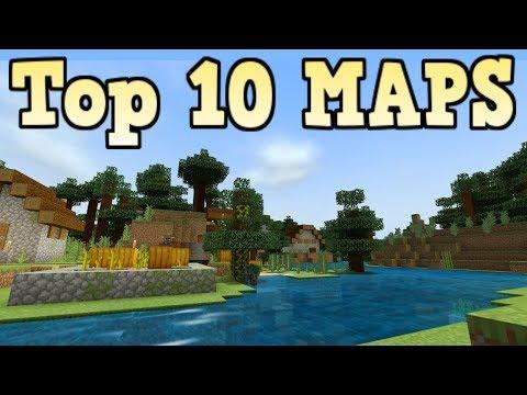 Top 10 Minecraft Maps 2019 (Bedrock Edition)