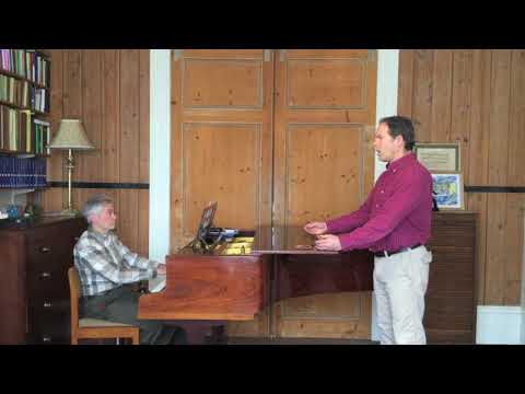 Singing Lesson with Gerald Finley: Part 1