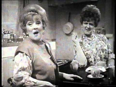 "Beryl Reid & Joan Sims - ""Nothing In The House Except Percussion"" 1968"