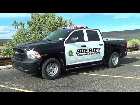 Sandoval County Sheriff's Office cruiser B08 - light setup [NM | 9/2017]