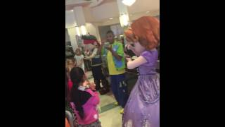 Disney Character meet and greet with Sophia the First and more.