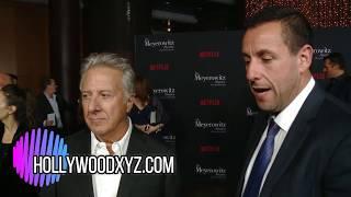 Netflix The Meyerowitz Stories premiere Dustin Hoffman, Adam Sandler, Grace Van Patten