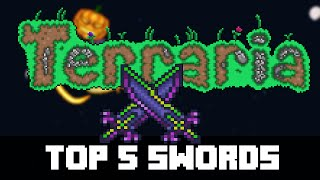 Top 5 Hardmode Weapon Swords in Terraria (PC, CONSOLE, MOBILE) PRE 1.3