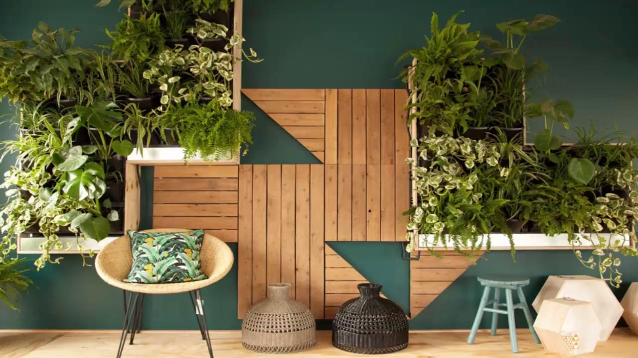 Vertical Garden Designs - YouTube