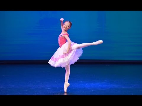 """""""12 year old """"Coppelia"""" - International Ballet Competition Hellas"""