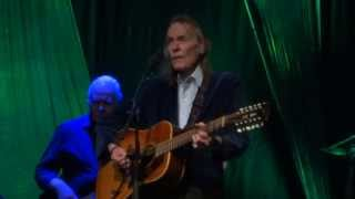 "Gordon Lightfoot ""Canadian Railroad Trilogy"" Chicago IL 3-16-2014"