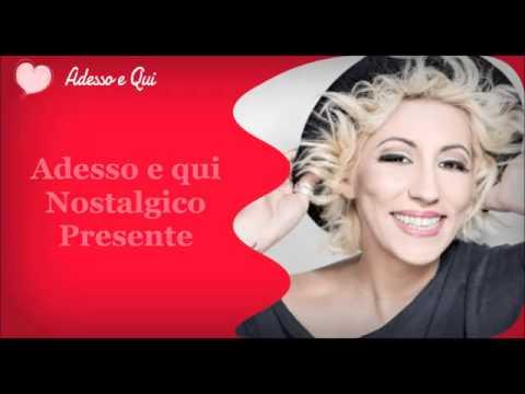 Sanremo 2015 - Adesso e Qui - Malika Ayane - TESTO