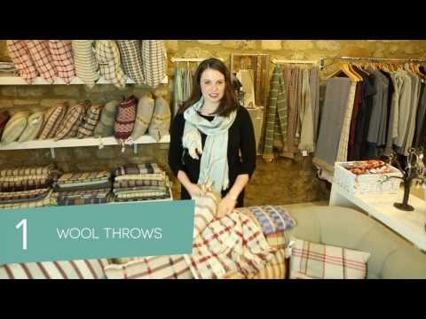 Top 5 Christmas gift recommendations from K Fraser Textiles, Milsom Place