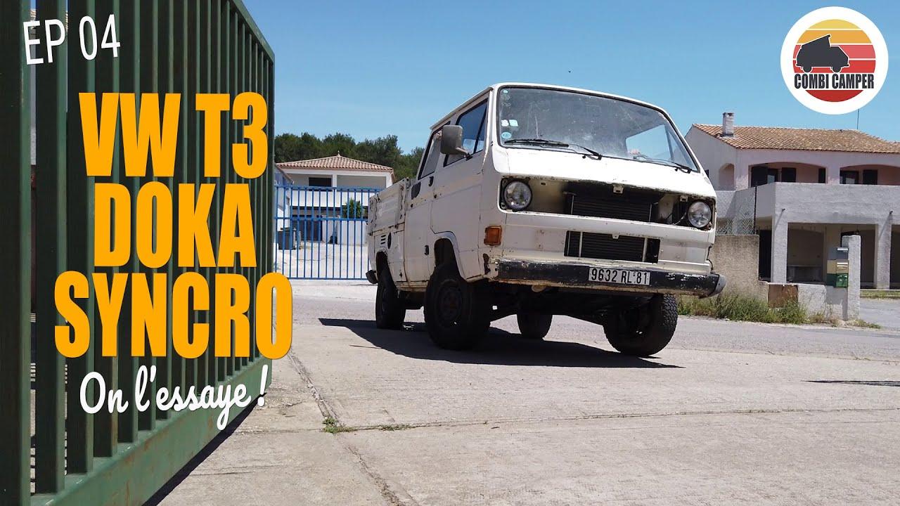 [Rescue VW T3] EP.04 - Premier essai du DOKA SYNCRO