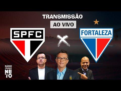 São Paulo x Fortaleza | AO VIVO | Campeonato Brasileiro 2020 | Rádio Craque Neto
