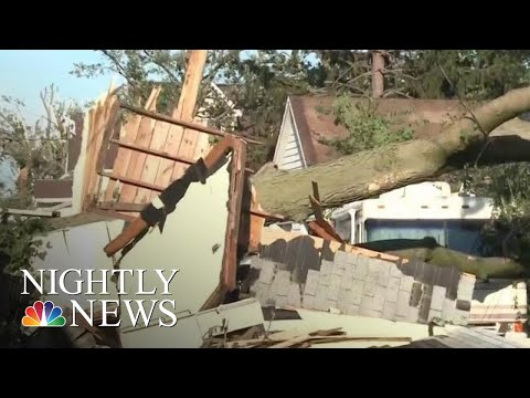 Tornadoes Tear Through Iowa Causing Destruction And Injuries | NBC Nightly News