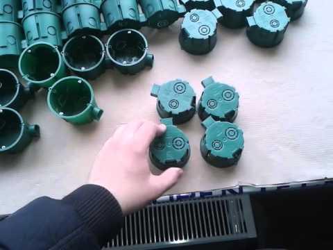Монтажные коробки от Schneider Electric серии IMT35100 и IMT35101