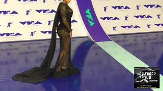Keyshia Cole at the 2017 MTV Video Music Awards at The Forum in Los Angeles
