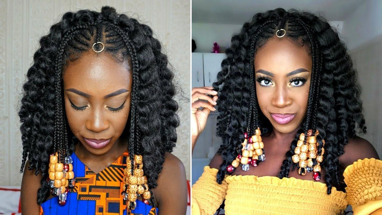 Fulani Braids Amp Crochet Beads Tutorial Sincerelyoghosa