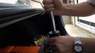New Civic - Amortecedores dianteiros e buchas da balança