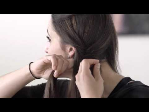 Aveda How-To | Triple Fishtail Braid Step-By-Step