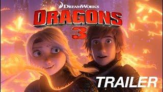 Como Treinar Seu Dragão 3 (2019) Trailer Legendado PT-BR  - HOW TO TRAIN YOUR DRAGON HE HIDDEN WORLD