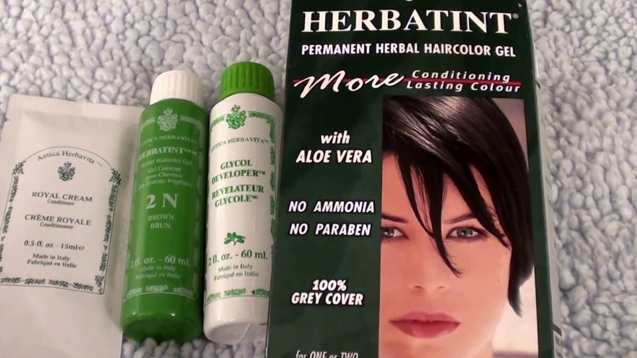 Herbatint Permanent Herbal Haircolor Gel 2 N Brown/CHECK OUT MY ...