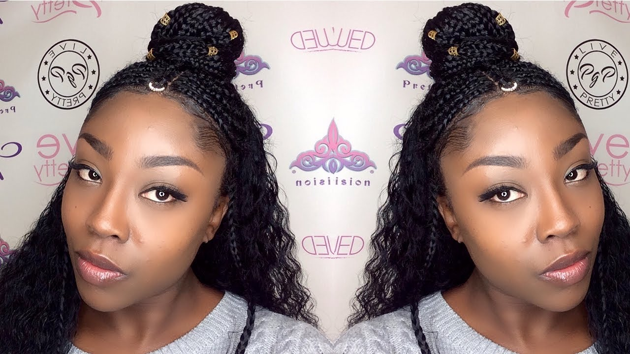 How To Braid A Lace Wig Tribal Braids Evawigs Review