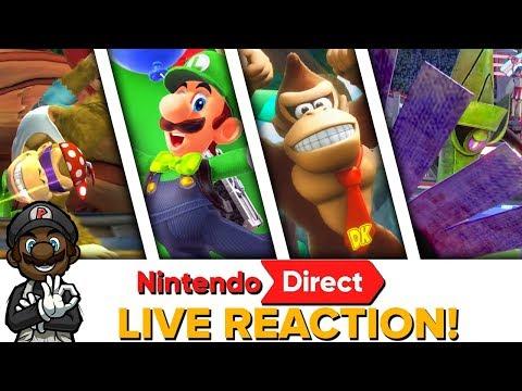 LUIGI IN SUPER MARIO ODYSSEY?! || Nintendo Direct Mini 1.11.18 LIVE REACTION!