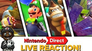 LUIGI IN SUPER MARIO ODYSSEY?! || Nintendo Direct Mini 1.11.18 LIVE REACTION!