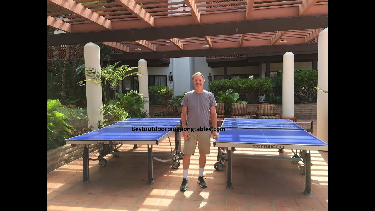 Cornilleau 500M Outdoor Ping Pong Table Review - YouTube 84d150153e20