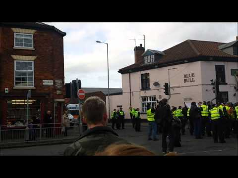 The Day the EDL came to Grantham Town