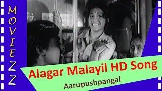 Alagar Malayil HD Song   Aarupushpangal