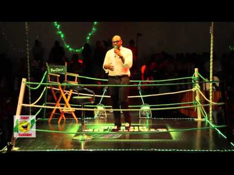 Video (stand-up): Warri Comedian in a Skirt Gives Funny Performance at Stand Up Nigeria Show