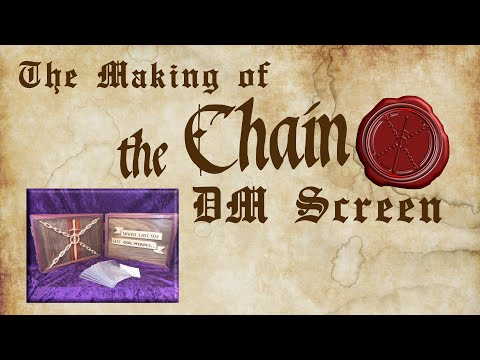 The Making of The Chain DM Screen