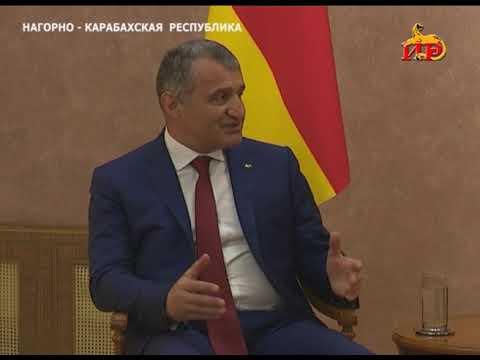 Анатолий Бибилов встретился с президентом Нагорного Карабаха Бако Саакяном