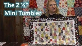 Pravítko na patchwork  Mini Tumbler Template video