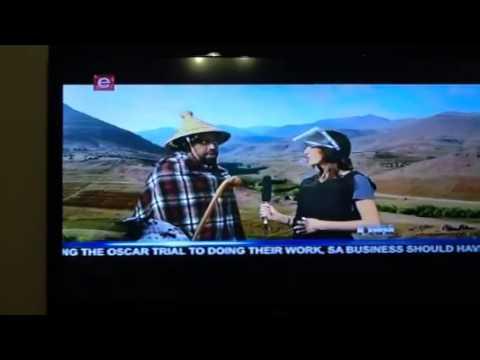 "Lesotho ""coup"" comedy"