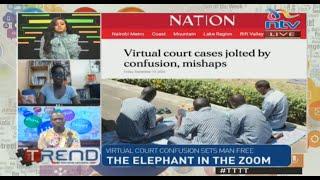 Virtual court confusion sets man free | #TTTT